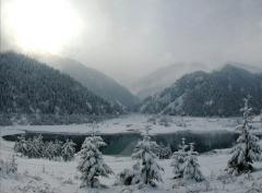 Озеро Иссык 2016 (январь)