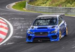 Subaru WRX STI стал самым быстрым седаном Нюрбургринга