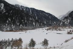 Озеро Иссык (январь 2018)