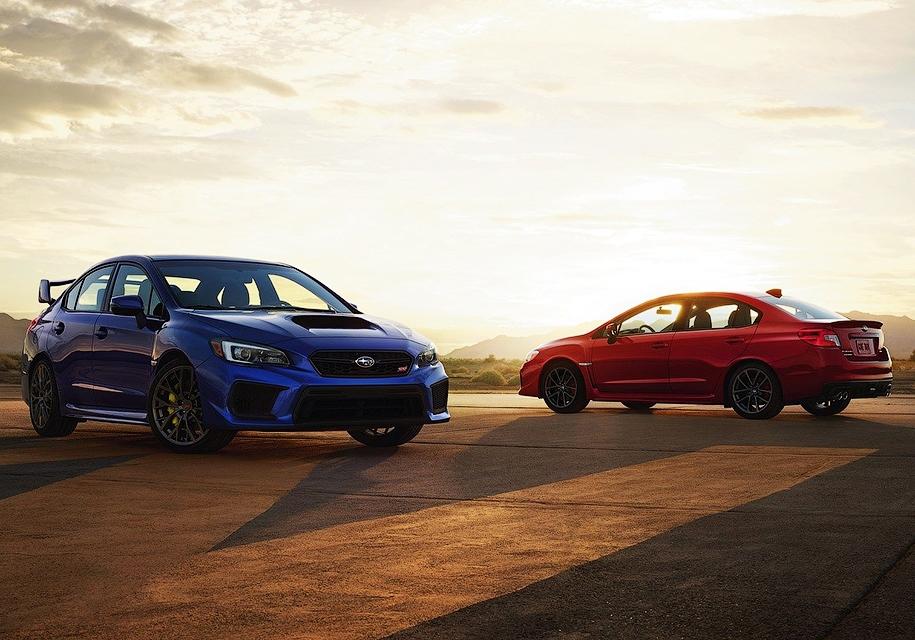 Subaru добавила мощности седану WRX STI