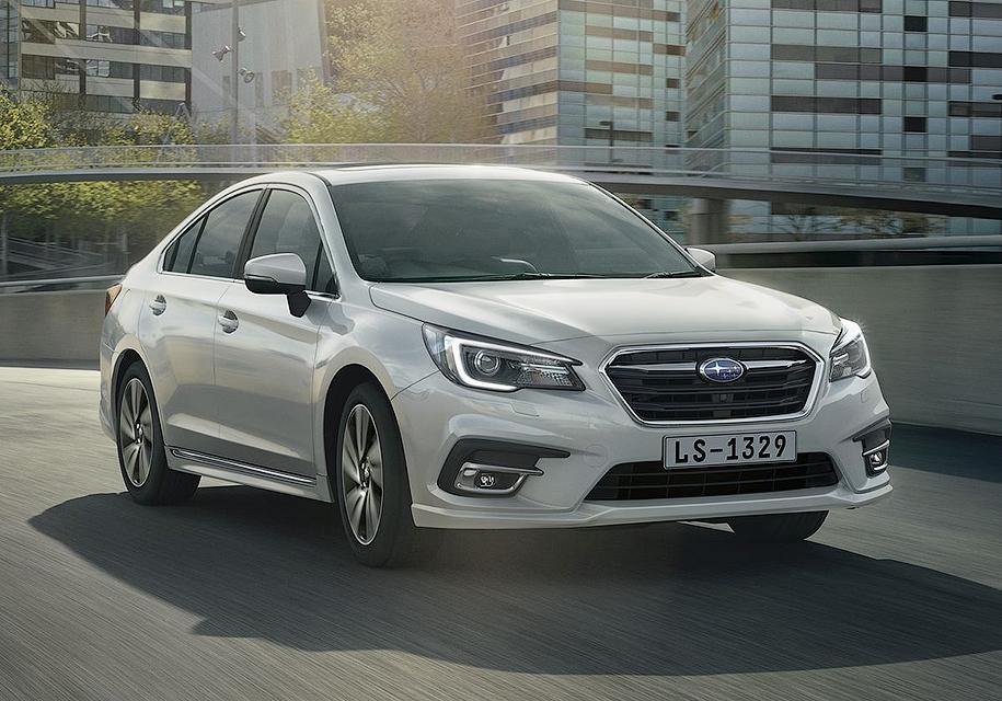 Subaru вернула в Россию седан Legacy